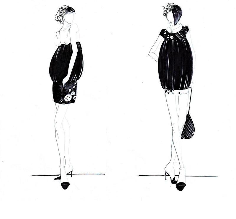 --little black dress 1-- by AannNdddDI