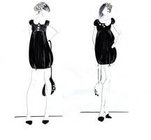 ---little black dress 3--- by AannNdddDI