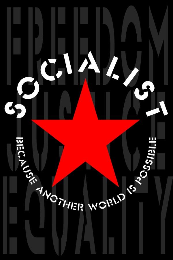 SOCIALIST by scart