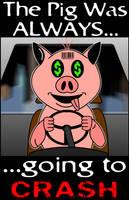 CRASH PIG, CRASH by scart