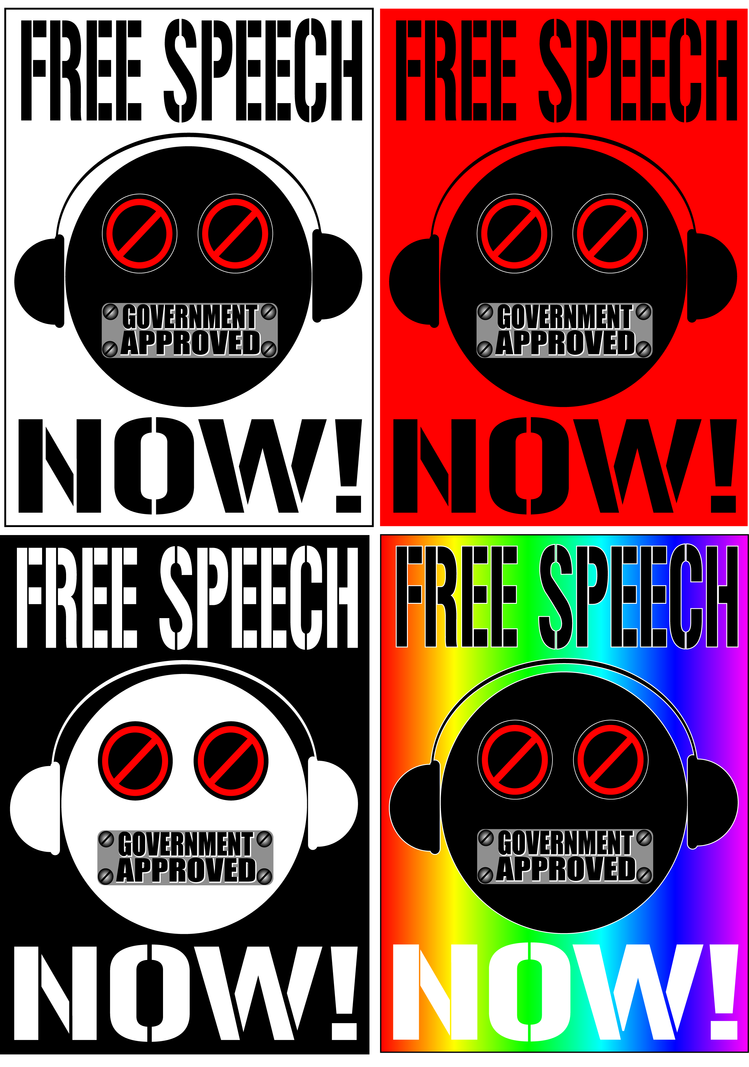 FREE SPEECH NOW by scart