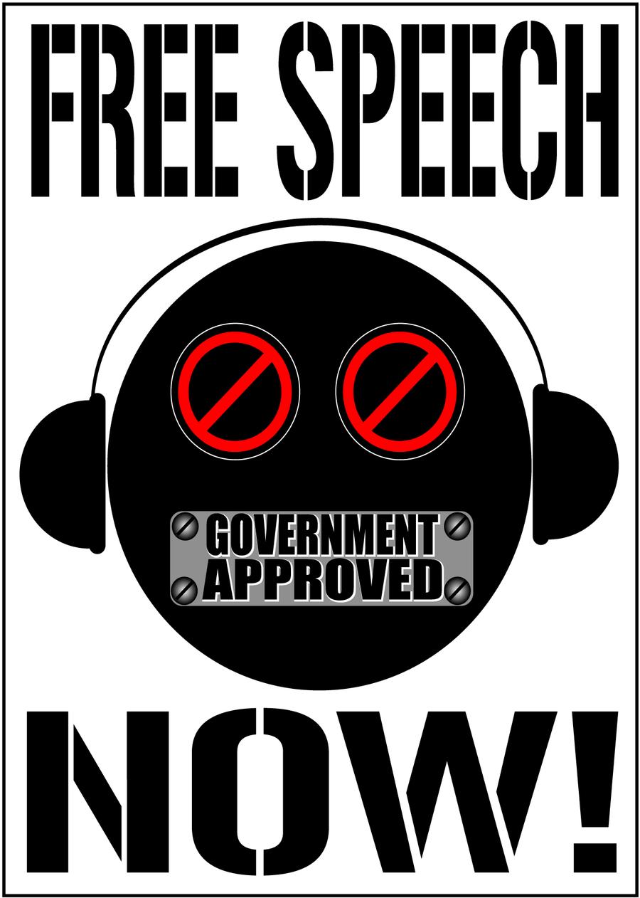 FREE SPEECH NOW -Single by scart