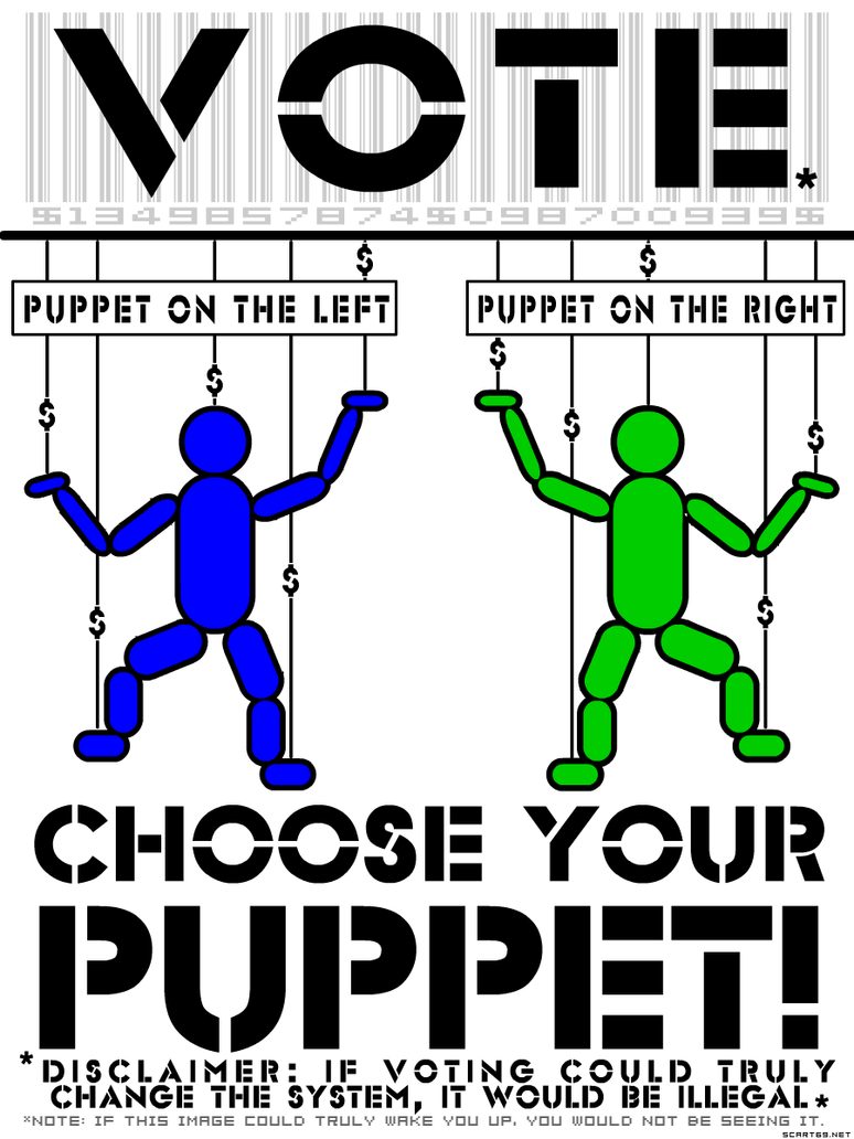 VOTE - Choose Your Puppet by scart