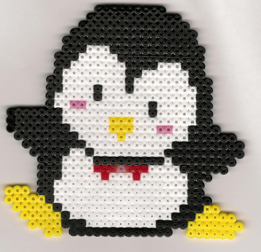 Perler Bead Penguin by MarshLover