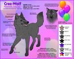 Craz-Wolf - Reference Sheet 2012