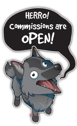 HERRO! COMMISSIONS ARE OPEN! by Crazdude
