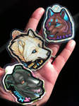 Laminated Key-tags - Wildguardian Commissions by Crazdude