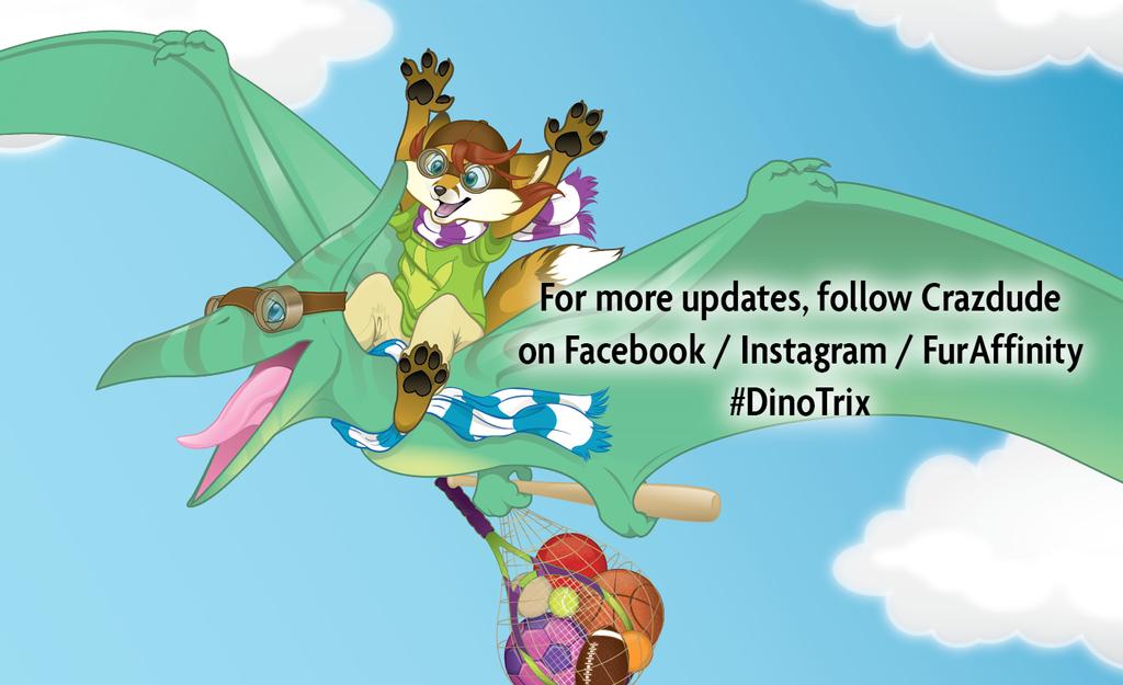 Dino Trix Promotion post by Crazdude