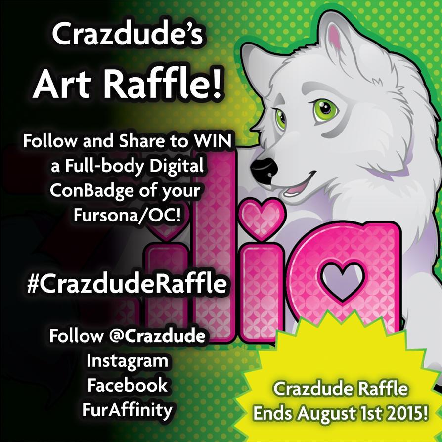 CrazdudeRaffle by Crazdude