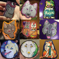 Recent commissions and personal art