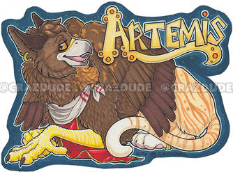 Lvanhound Artemis Badge
