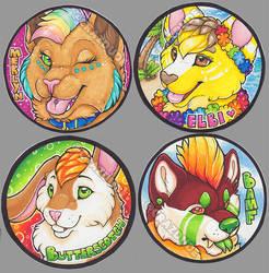 LBfromTheBlock Circle badges by Crazdude