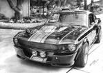 SHELBY GT500 Eleanor Black