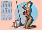 Aion: Pin up calendar page
