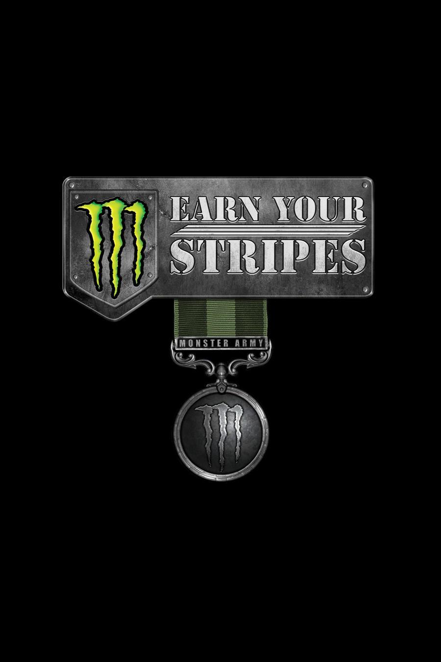monster army logo wallpaper