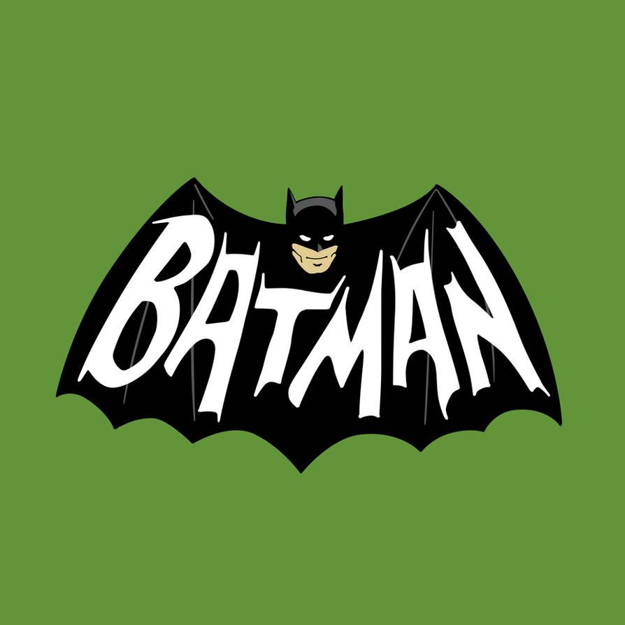 1966 Batman Logo Vector by chev327fox