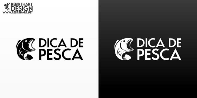 Logotipo - Dica de Pesca by RebirthArt