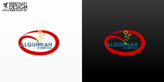 Logotipo - Alquimiah Eventos by RebirthArt