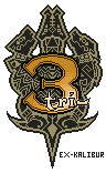 Monster Hunter 3 Logo - Sprite by Ex-Kalibur