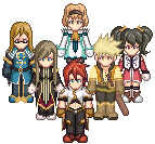 Tales of the Abyss - Sprited by Ex-Kalibur