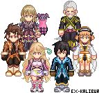 Tales of Xillia - Sprited by Ex-Kalibur