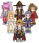 Tales of Phantasia - Sprited by Ex-Kalibur