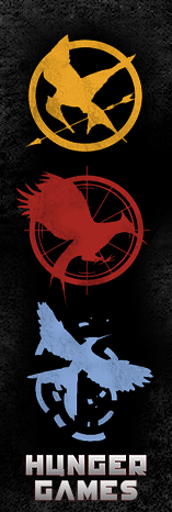 Hunger Games Bookmark by Ex-Kalibur