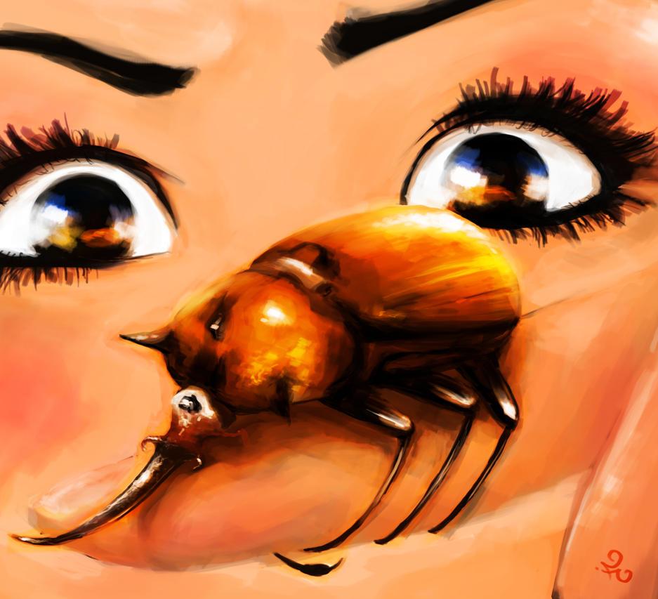 Hercules Beetle by ferdicamacho