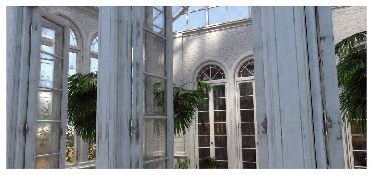 Conservatory by Platycerium
