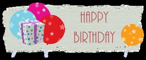 Happy Birthday by Platycerium