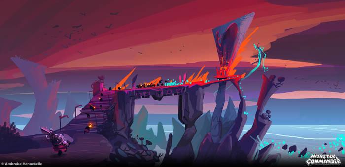 Monster And Commander concept : Retake Ravengard!!