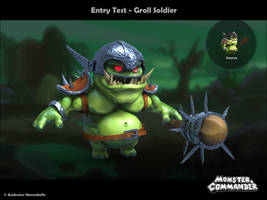 Monster And Commander : Groll Soldier