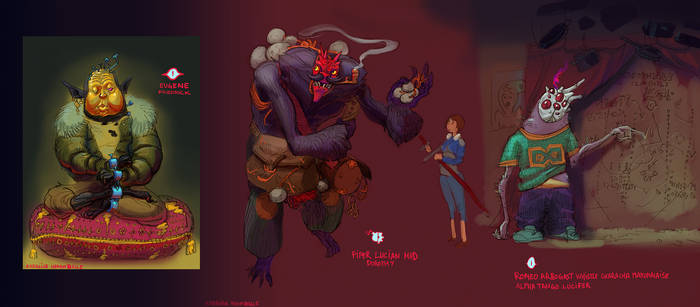 Kill Six Billion Demons Devil Contest Entry