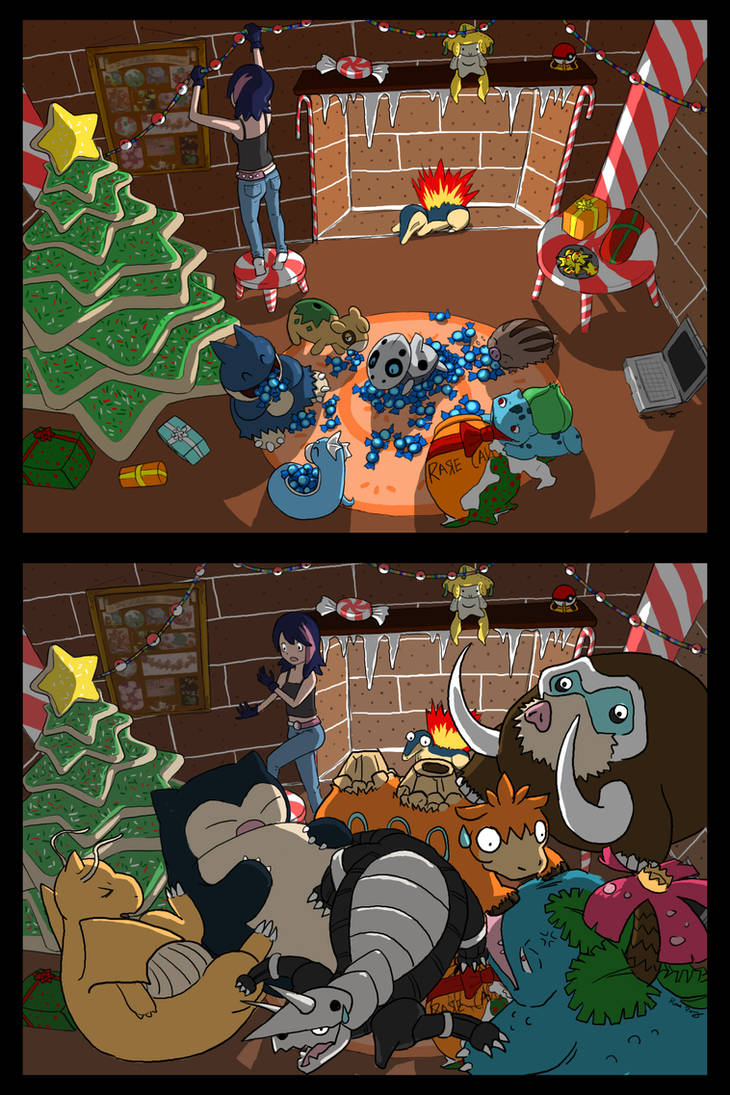 Rare Candy Christmas by dragofyre7