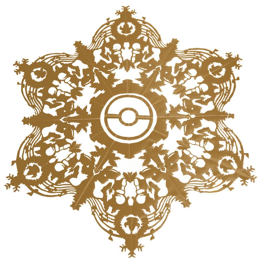 Pokemon Snowflake by dragofyre7