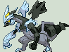 Black Kyurem Sprite by dragofyre7