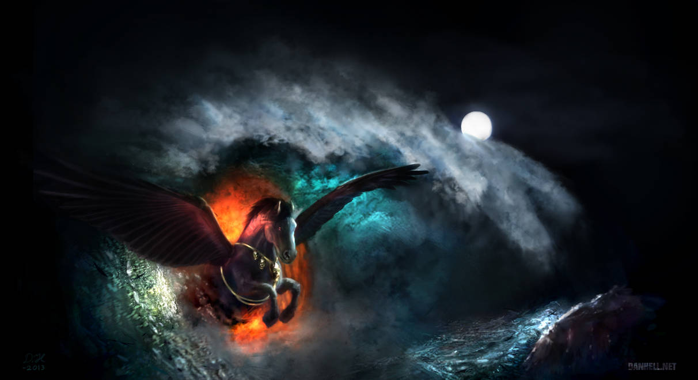 Freo The Demon Pegasus By Danhellart On Deviantart