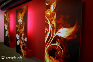 Abstract Wall Deco by josgoh
