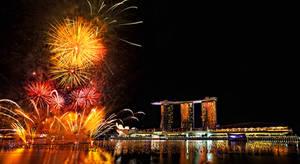 Fireworks, New Year 2012