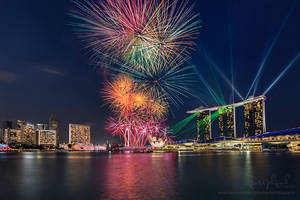 Singapore 49th National Day Fireworks