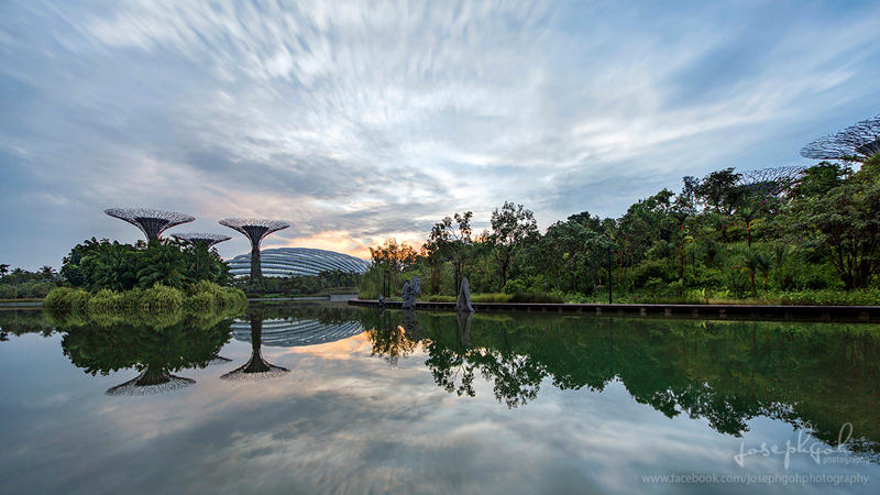 Sunrise At Gardens By The Bay by josgoh