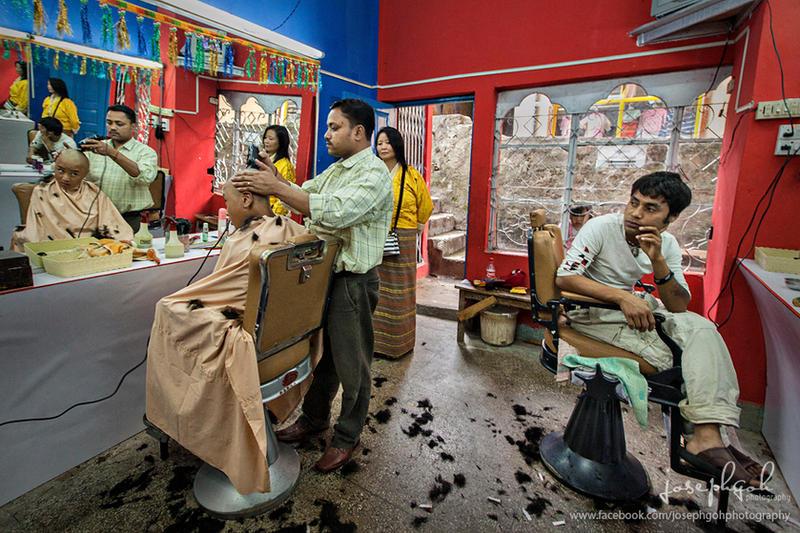Traditional Barber Shop In Bhutan by josgoh