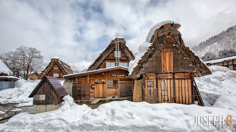 Shirakawa-go, Japan by josgoh