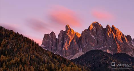 Dolomites In Autumn, Italy
