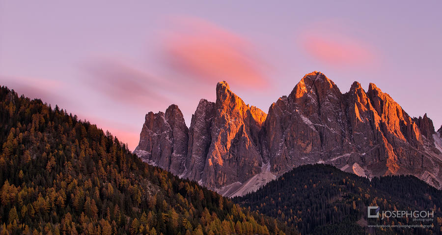 Dolomites In Autumn, Italy by josgoh