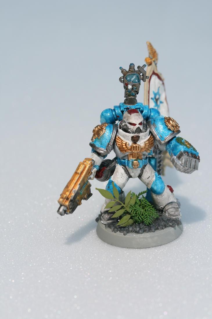Deltamarines 1st Sergeant by darkben64