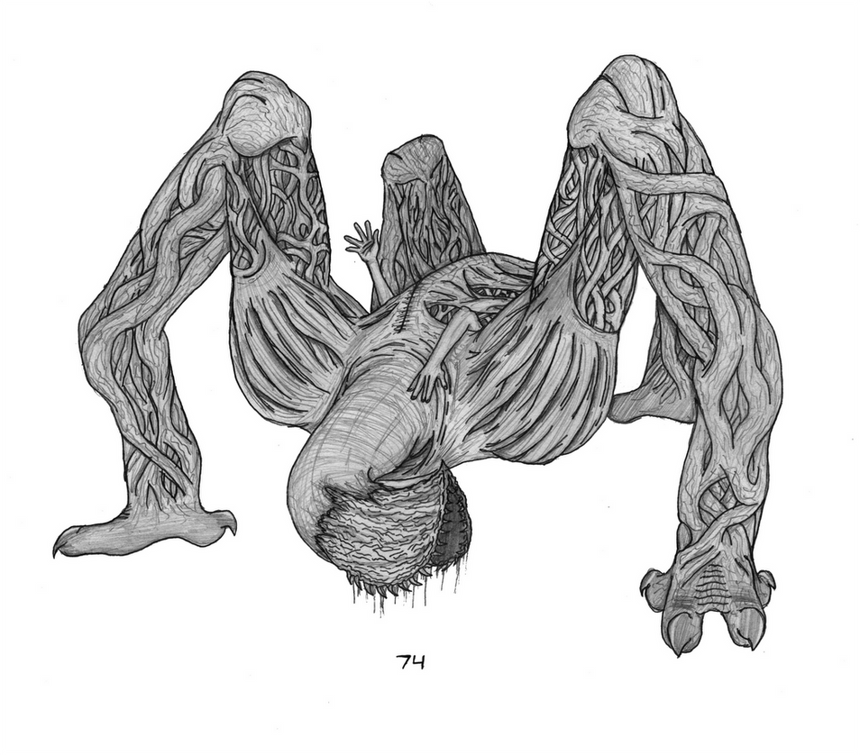 Human Flytrap by Chavesaur