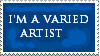 9. Varied Artist Stamp by Faro-Pantha