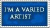 9. Varied Artist Stamp by Faro-Pantha