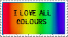 17. I Love All Colours by Faro-Pantha